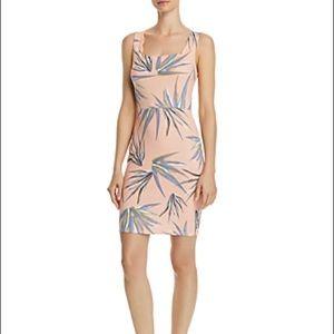 Bloomingdales exclusive Aqua bodycon dress XS NWT